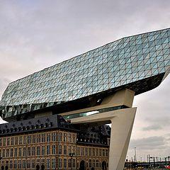 """photo """"Port Authority Building (Antwerp)"""""""