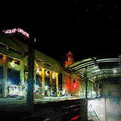 """фото """"Вокзал в Краснодаре"""""""