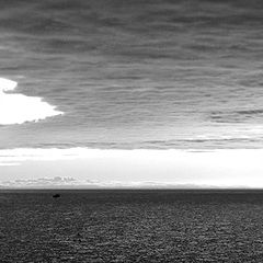"""photo """"clouds on the sea"""""""