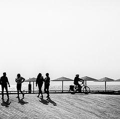 """фото """"Зима на Средиземном..."""""""