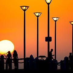 "фото ""Sunset in Aktau (Kazakhstan)"""