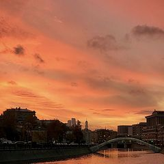 "photo ""The Orange Evening_pavel_bondarev_photo"""
