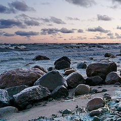 "photo ""February on the Gulf of Finland. AA beach."""