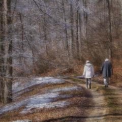 """фото """"Вслед уходящей зиме"""""""