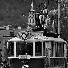 "photo ""Трамвай на набережной"""