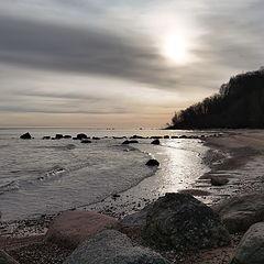 """photo """"Self-isolation. Under the cliff in Saka. Ida Virumaa. Estonia"""""""
