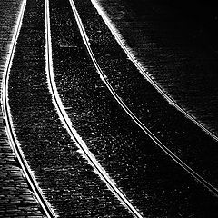 "photo ""Трамвайные пути"""