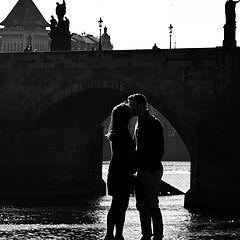 """photo """"Пара и мост"""""""