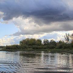 """photo """"On the Volga River in September"""""""