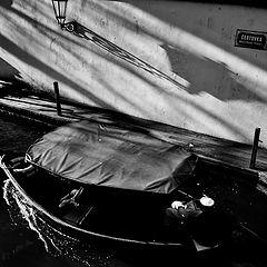 """photo """"Фонарь и лодка"""""""