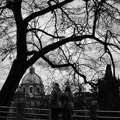 """photo """"Башни и пара"""""""