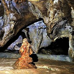 "photo ""Crimea. Red cave. Buddha."""