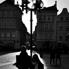 "photo ""Лампы и фигуры"""