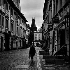 "photo ""Башня и улица"""