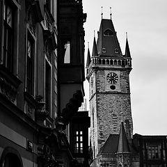 """photo """"Дом и башня"""""""