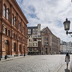 "photo ""walk in Old Riga"""