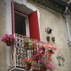 "photo ""in the village: balcony"""