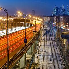 """фото """"Москва. Вечер."""""""