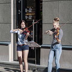 "photo ""Violin Duo"""