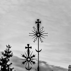 """photo """"The Hill of Crosses, Lithuania"""""""