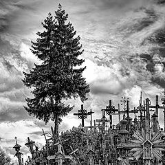"""photo """"The Hill of Crosses, Lithuania 3"""""""