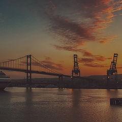 "photo ""Port. Evening"""