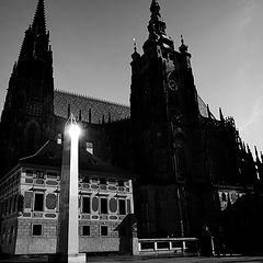 """photo """"Утренний вид на собор Святого Вита"""""""