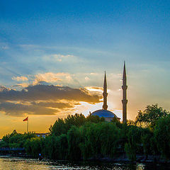 """photo """"Kızılırmak' ta gün batımı"""""""