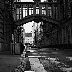 """photo """"Лужа и улица"""""""