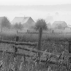 """фото """"Утро в деревне."""""""