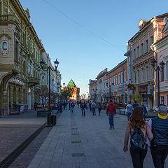 """фото """"Н.Новгород. Улица Б.Покровская."""""""