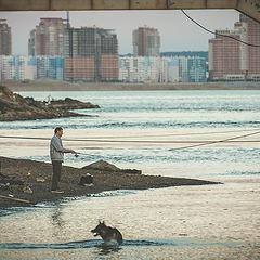 """photo """"evening fishing"""""""