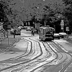 "фото ""Московский трамвай."""