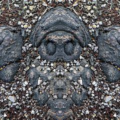 """photo """"ungeist (2)  -  evil spirit (2)"""""""