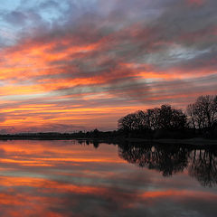 """фото """"Smoke on the water, a fire in the sky"""""""