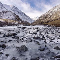 "фото ""Ледяная река..."""