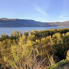 "photo ""Panorama from steep hills"""