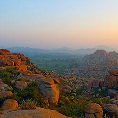 """фото """"Рассвет в Карнатаке"""""""