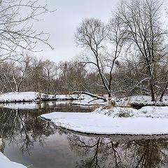 """фото """"Зимой у реки"""""""
