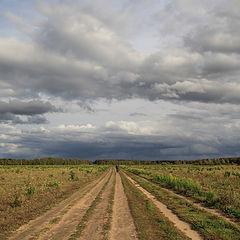 """photo """"September roads"""""""