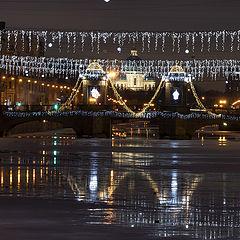 "photo ""Фонтанка. Лермонтовский мост."""