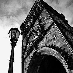 "photo ""Фонарь и башня"""