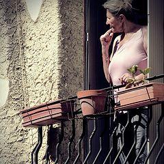 """photo """"to the balcony"""""""