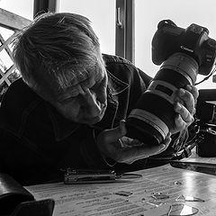 "photo ""in the photographer's workshop/ Happy Birthday, Oleg Gennadich!"""