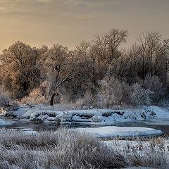 """фото """"Зимняя река"""""""