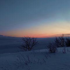 """фото """"восход на обрыве в Валасте"""""""