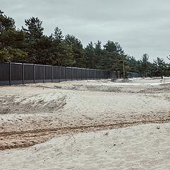 "photo ""winter beach"""