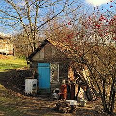 """photo """"In a village"""""""