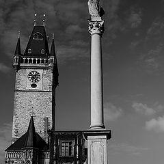 "photo ""Башня и колонна"""