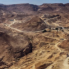 "photo ""View from Masada"""